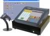 Obchodní systém LUPA NET s dotykovou pokladnou CHD8800 a čtečkou čárových kódů.