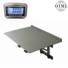 Nerezová nástěnná sklopná můstková váha N1T-PSN 60kg